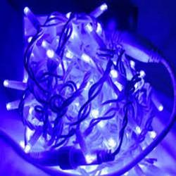 Гирлянда светодиодная уличная «Нить» 100 Led синий 10 м