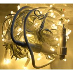 Гирлянда светодиодная уличная «Нить» 100 Led тепло-белый 10 м