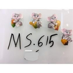 Магнит керамический мышка 2020
