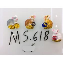 Магнит керамический мышка 2020 №618