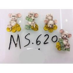 Магнит керамический мышка 2020 №620