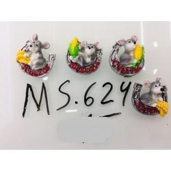 Магнит керамический мышка 2020 № 624