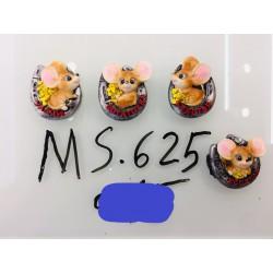 Магнит керамический мышка 2020 № 625