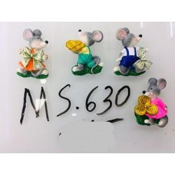 Магнит керамический мышка 2020 № 630