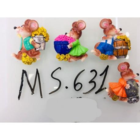 Магнит керамический мышка 2020 № 631