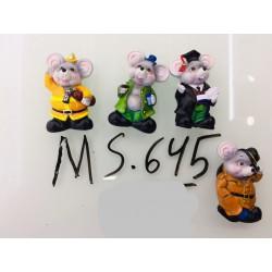 Магнит керамический мышка 2020 № 645