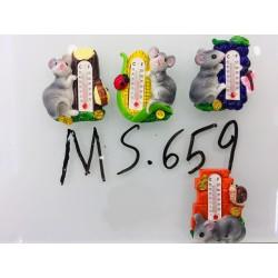 Магнит керамический мышка 2020 № 659