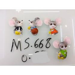 Магнит керамический мышка 2020 № 668