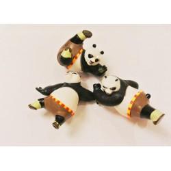 Игрушка Панда Кунг Фу керамика 13*5 см