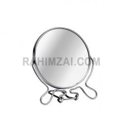 Зеркало металлическое 2-х стороннее на подставке № 7