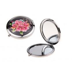 Карманное зеркальце компактное складное круглое зеркало ручное для макияжа