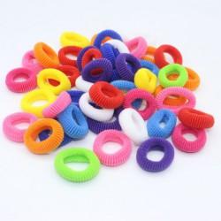Набор детских маленьких резинок для волос 7 цветов