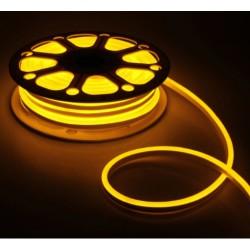 Светодиодный гибкий неон 50 м 220v AVT Тепло-белый (Р) 120Led 2835 5mm IP65 № 781