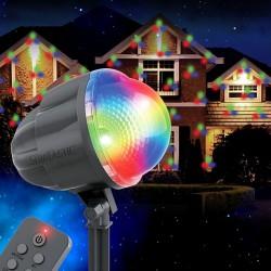 Уличный новогодний проектор Звездный дождь № 811