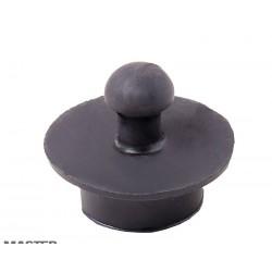 Пробка резиновая чёрная для ванны
