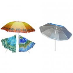 Зонт пляжный 2м с наклоном и напылением