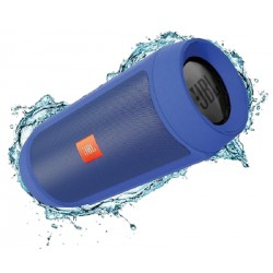 Портативная колонка JBL CHARGE 2+ на 6000 mAh Синяя - водонепроницаемая Bluetooth колонка