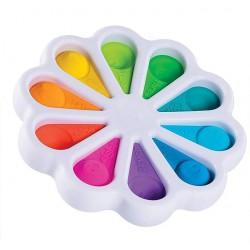 Сенсорная игрушка антистресс Simple Dimple pop it детский цветок