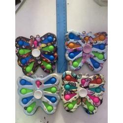 Сенсорная игрушка pop-it, симпл димпл, поп ит антистресс, бабочка