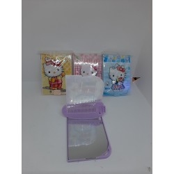 Детский набор зеркальце с расческой Hello Kitty