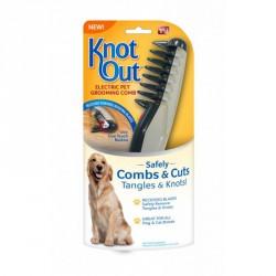 Электрическая расческа для вычесывания собак и кошек KNOT OUT / ART-0487