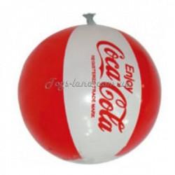 Мячик надувной Cola