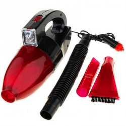 Пылесос для авто Car Vacum Cleaner (красный) 12V / ART-0233