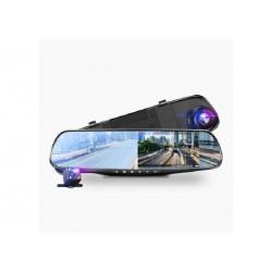 Автомобильный видеорегис Зеркало с видеорегистратором L9000 2JR (2 камеры / 4.3 Экран)
