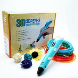 3Д/3D ручка -- с LCD Дисплеем (Разные цвета)