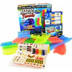 Игрушки -- Гоночный трек MAGIC TRACKS на 220 деталей