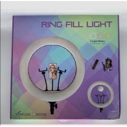 Кольцевая Лампа / RING LIGHT 21 (54см) 520A + MIRROR + BAG