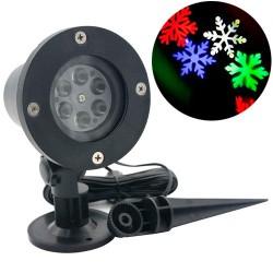 Мощный уличный лазерный диско-проектор Новогодний водонепроницаемый светодиодный