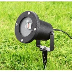 Мощный уличный лазерный диско-проектор Новогодний водонепроницаемый
