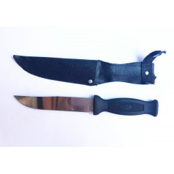 Нож в чёрном чехле