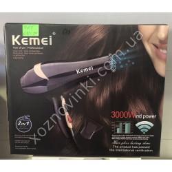 Фен для волос Kemei KM-2378 3000W с ионизацией № 681