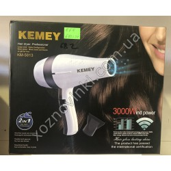 Фен для волос Kemei KM-5813 3000W №682
