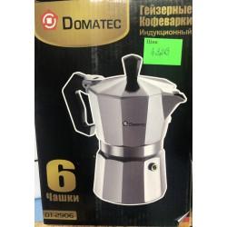 Гейзерная кофеварка Domotec DT-2906