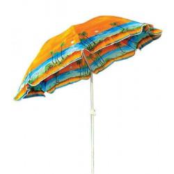 Зонт пляжный,1,8 м. напыление UV-Stop, функция Наклона